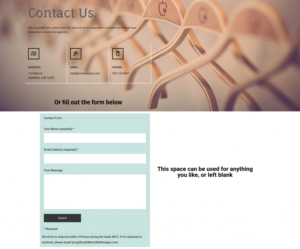 contact template 1