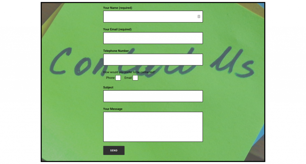 contact template 3