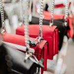 purses on display