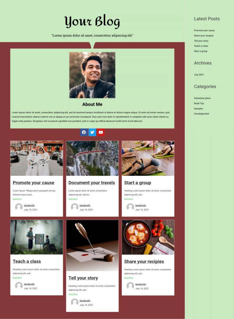 blog template 3